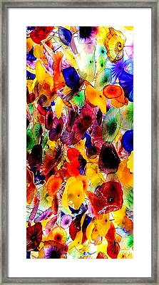 Garden Of Glass Triptych 1 Of 3 Framed Print by Benjamin Yeager