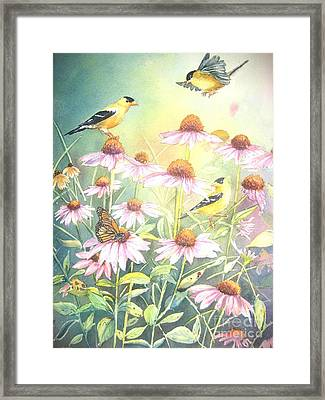 Garden Party Framed Print by Patricia Pushaw