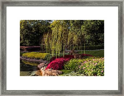 Gardens Framed Print by Zina Stromberg