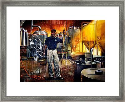 Garrett Framed Print by Gregg Hinlicky
