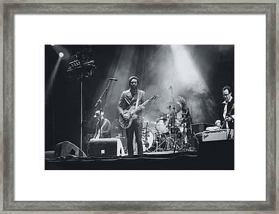 Gary Clark, Jr. Playing Live Framed Print by Marco Oliveira