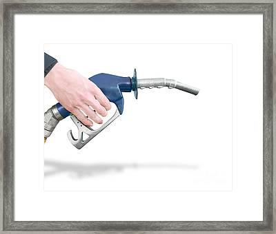 Gas Station Pump Framed Print by Jorgo Photography - Wall Art Gallery