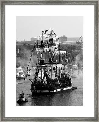 Gasparilla Ship 2013 Framed Print by David Lee Thompson