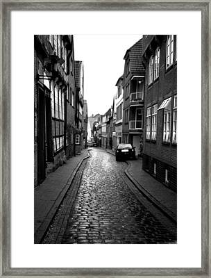 Gasse Framed Print by Gerlinde Keating - Galleria GK Keating Associates Inc