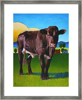 Gaston Framed Print by Stacey Neumiller