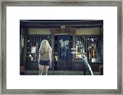 Gastronomic Adventures Framed Print by Cho Me
