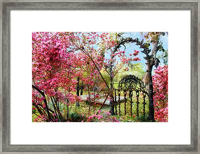 Gate To Eternity Framed Print by Bonnie Barry