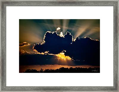 Gate To The Golden City Framed Print by Christopher Holmes