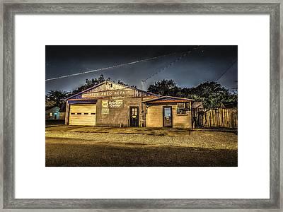 Gates Auto Repair Framed Print by David Morefield
