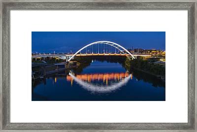 Gateway Bridge - Nashville Framed Print by Stephen Stookey