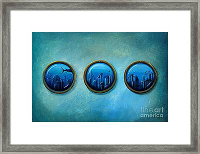 Gateway To Antiquity Framed Print by Cindy Thornton