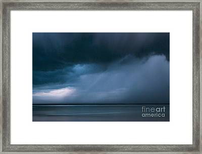 Gathering Storm Framed Print by John Greim