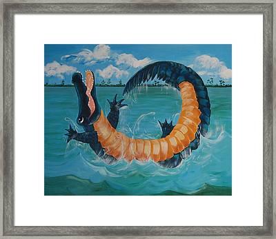 Gators Just Wanna Have Fun Framed Print by Adriane Pirro