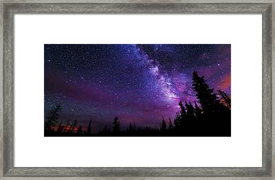 Gaze Framed Print by Chad Dutson
