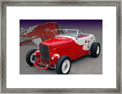 Gb Deuce Framed Print by Bill Dutting