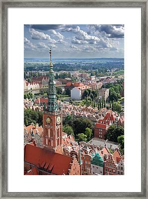 Gdansk Framed Print by Jaroslaw Grudzinski