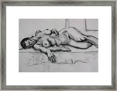Ge Framed Print by Dan Earle