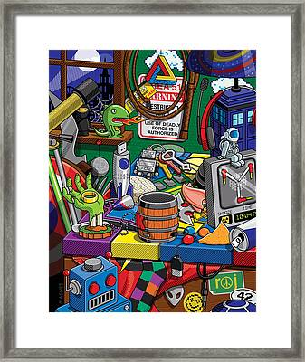 Geek Chic Framed Print by Ron Magnes