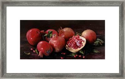 Genades Framed Print by Kira Weber