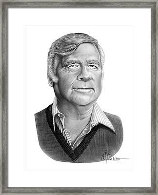 Gene Roddenberry Framed Print by Murphy Elliott