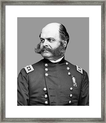 General Burnside Framed Print by War Is Hell Store