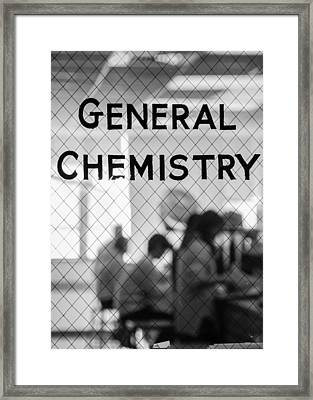 General Chemistry Framed Print by Phillip Schafer