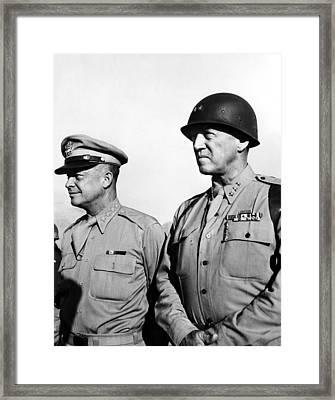 General Dwight Eisenhower, General Framed Print by Everett