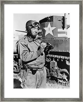 General George S. Patton 1885-1945 Framed Print by Everett