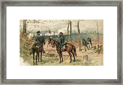 General Grant, Battle Of Shiloh, 1862 Framed Print by Wellcome Images