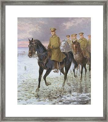 General John J Pershing  Framed Print by Jan van Chelminski