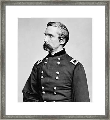 General Joshua Chamberlain  Framed Print by War Is Hell Store