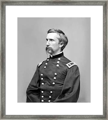 General Joshua Lawrence Chamberlain Framed Print by War Is Hell Store