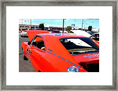 General Lee Framed Print by Fine Art Photography By Stephanie