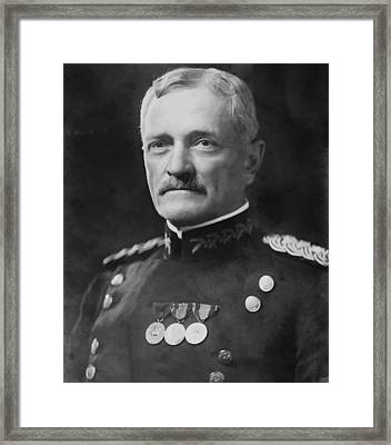 General Pershing Framed Print by War Is Hell Store
