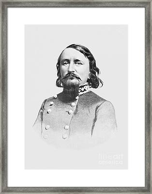 General Pickett - Csa Framed Print by Paul W Faust -  Impressions of Light