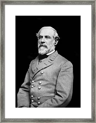 General Robert E Lee - Csa Framed Print by Paul W Faust -  Impressions of Light