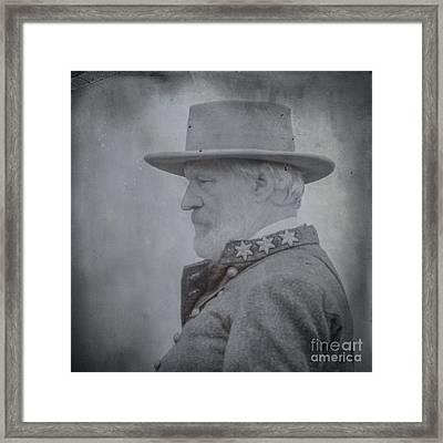 General Robert E Lee Portrait  Framed Print by Randy Steele
