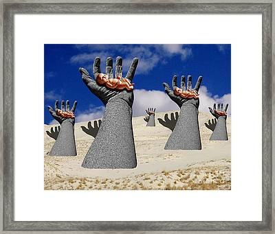 Generation Of Hope Framed Print by Keith Dillon