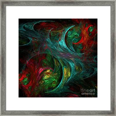 Genesis Framed Print by Oni H