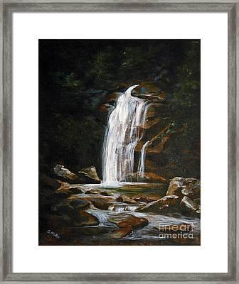 Genesis Framed Print by Suzanne McKee