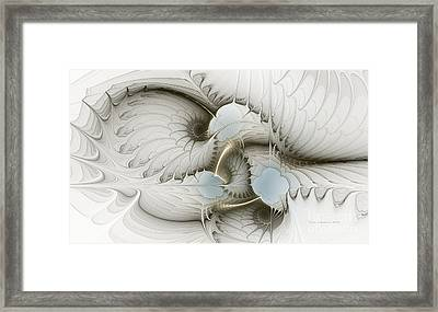 Gentle Hints Framed Print by Karin Kuhlmann