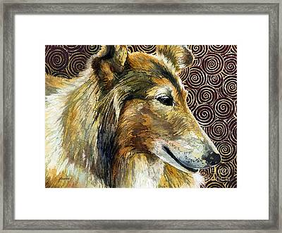 Gentle Spirit - Reveille Viii Framed Print by Hailey E Herrera