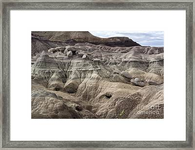 Geology Lesson 2 Framed Print by Melany Sarafis