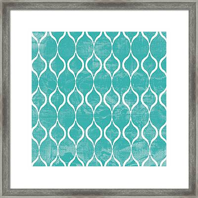 Geometric 3 Framed Print by Marilu Windvand
