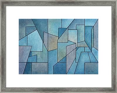 Geometric Abstraction IIi Framed Print by David Gordon