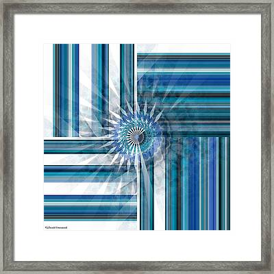 Geometry  Framed Print by Thibault Toussaint