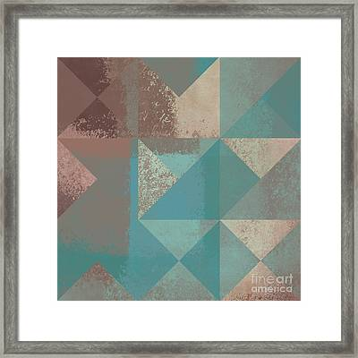 Geomix 03 - S123bc04t2a Framed Print by Variance Collections