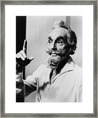 George Balanchine 1907-1983 Framed Print by Everett
