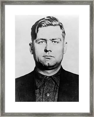 George Bugs Moran 1891-1957 Chicago Framed Print by Everett