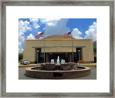 George Bush Library And Museum Framed Print by Art Spectrum